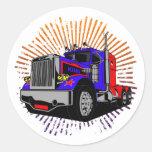 King Trucker Stickers