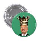King Trump Pinback Button