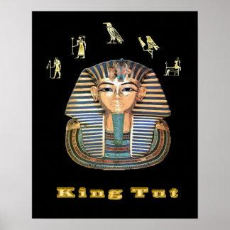 king tut  art poster