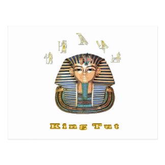 King tut art  products postcard
