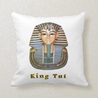 King tut art throw pillows