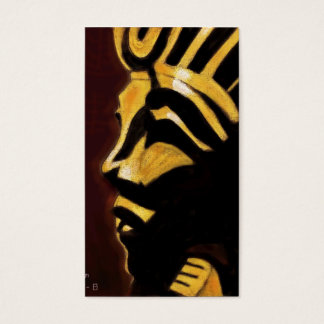 King Tut Business Card