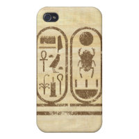 King Tut Cartouche iPhone 4/4S Case