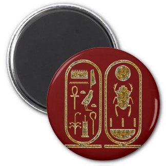 King Tut  Hieroglyphics Refrigerator Magnets