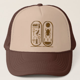 King Tut  Hieroglyphics Trucker Hat