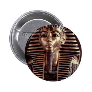 King Tut mask Button