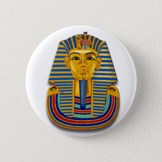 King Tut Mask Button