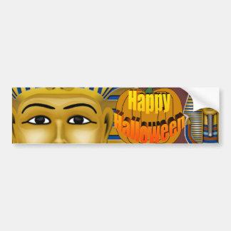 King Tut Mask Costume Tees n Stuff Car Bumper Sticker