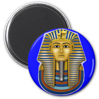 King Tut Mask Costume Tees n Stuff 2 Inch Round Magnet