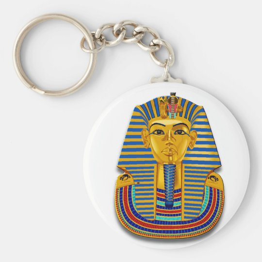 King Tut Mask Keychain