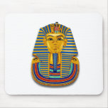 King Tut Mask Mouse Pads