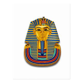 King Tut Mask Post Cards