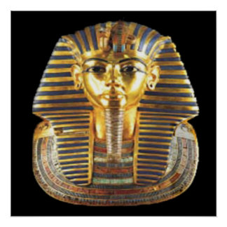 king tut mask posters