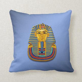 King Tut Mask Throw Pillows