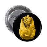 King Tut Pinback Buttons