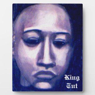 KING TUT plaque