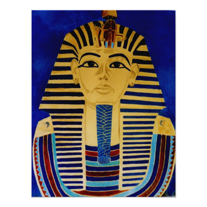 King Tut Tutankhamun Ancient Egypt Art Print Zazzle Com