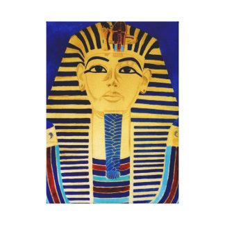 King Tut Tutankhamun The Boy King Canvas Art Print