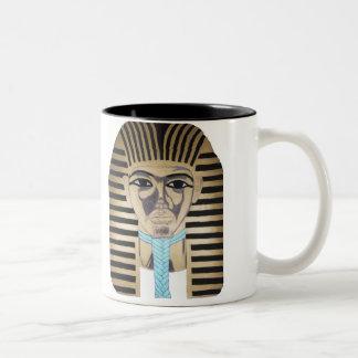 KING TUTANKAMUN Two-Tone COFFEE MUG