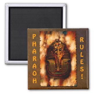 King TUTANKHAMEN Pharaoh Rules Egyptian Art Magnet