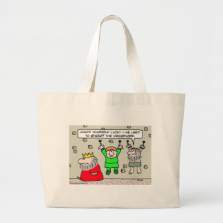 King used to shoot the messenger. canvas bag