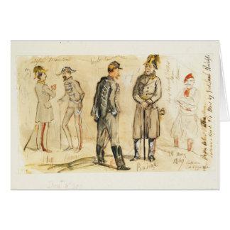 King Vittorio Emanuele II Card