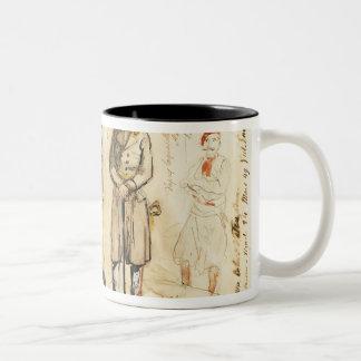 King Vittorio Emanuele II Two-Tone Coffee Mug