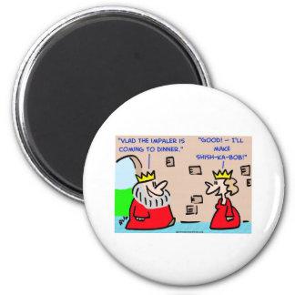 king vlad the impaler shish-ka-bob 2 inch round magnet
