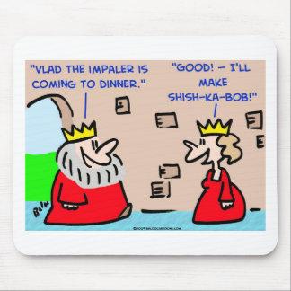 king vlad the impaler shish-ka-bob mouse pad