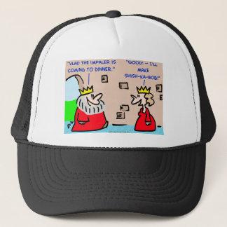king vlad the impaler shish-ka-bob trucker hat