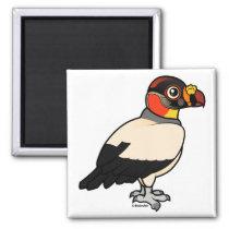 King Vulture Square Magnet