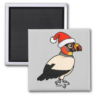 King Vulture Santa 2 Inch Square Magnet