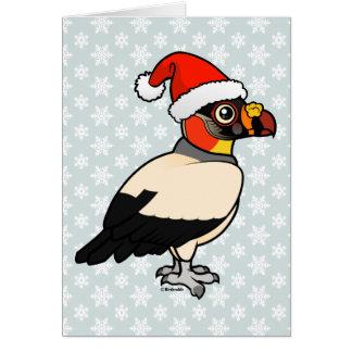 King Vulture Santa Card