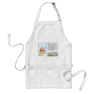 king war all out strugge for peace adult apron
