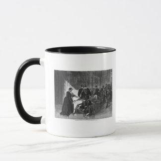 King Wilhelm I  visiting the hospital Mug