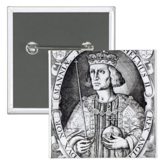 King William II of England, 1618 Pinback Button
