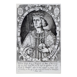 King William II of England, 1618 Poster