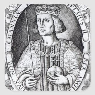 King William II of England, 1618 Square Sticker