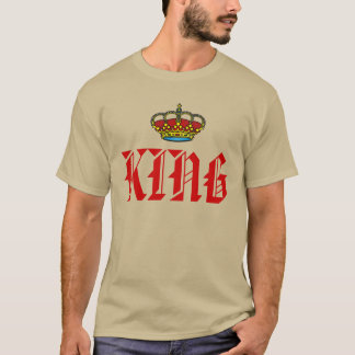 King with crown T-Shirt