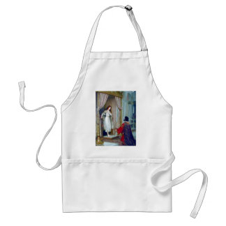King young woman palace adult apron