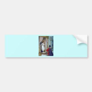 King young woman palace bumper sticker