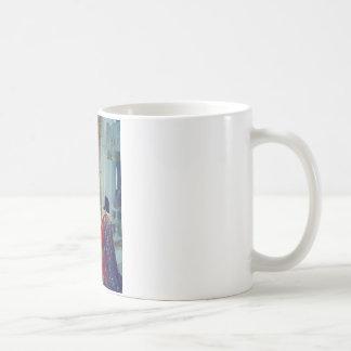King young woman palace coffee mug