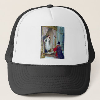 King young woman palace trucker hat