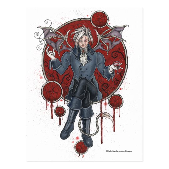 King Zerick Gothic Postcard