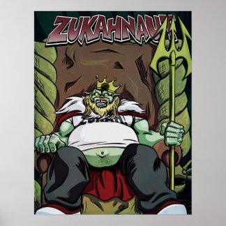 King Zukah Poster