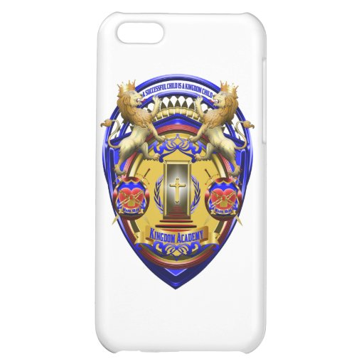 Kingdom Academy Gear Case For iPhone 5C