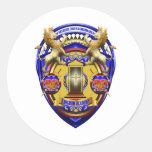 Kingdom Academy Gear Classic Round Sticker