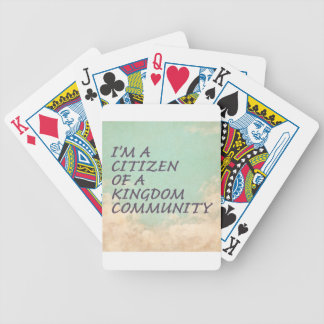 Kingdom Community Bicycle Playing Cards