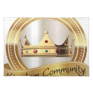 Kingdom Community Crown Cloth Placemat