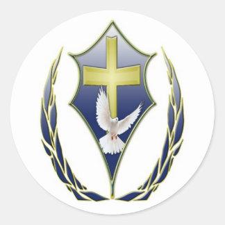 Kingdom Grace Apostolic Fellowship International Round Stickers